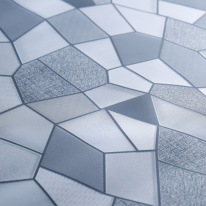 창문용 무점착시트지 OPS011 조각무늬