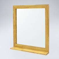 미라클 원목 선반형 거울(메이플)