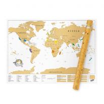[원더스토어] 럭키스 스크래치 맵 세계지도 XL 에디션
