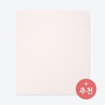 [월플랜]만능풀바른벽지 와이드합지벽지LG54008-2 솜사탕 핑크