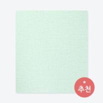 [월플랜]만능풀바른벽지 와이드합지벽지 LG54003-6 소프트팝 민트그린