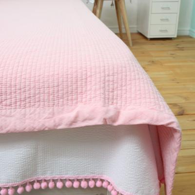 피그먼트 누빔 패드 - 핑크