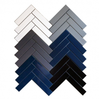 [어반테고]헤링본 모자이크 직사각타일 310*340 | 1BOX 0.9m2 15pcs | 6color