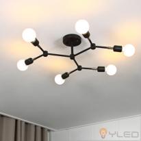 [LED거실등] LED 와이베르그6등 직부