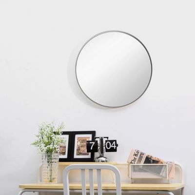 모더미 원형 거울 (화이트)