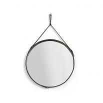 클렙튼 스트랩거울 307-60 초코브라운(후크 사은품증정)