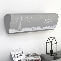 에어컨커버 스판 벽걸이 모노 파리지엥 트라이앵글