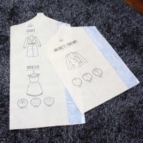 스마트베이직옷커버양복20장+코트5장