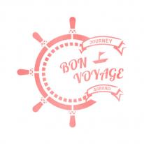 스텐실 도안_Journey Stamp (A4)