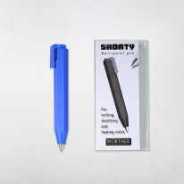 우더 쇼티(shorty) 볼펜 1.0mm