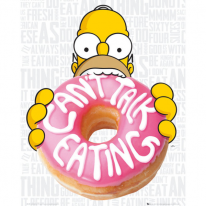MP1489 THE SIMPSONS Eating (40x50cm)
