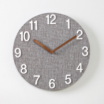 (kdrz055)그레이 우드 저소음벽시계 WN(25cm)
