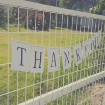[콩지] THANK YOU 이니셜 가렌다