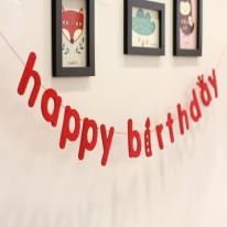 [콩지] happy birthay 이니셜 가렌다