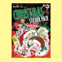 크리스마스-리무버블 데코 스티커-냉장고스티커/캐리어스티커
