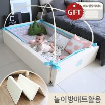 [할인특가] 변신범퍼침대 대형_월드스타_놀이방매트 변신형