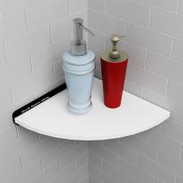 제니스 인조대리석 욕실코너선반 A형