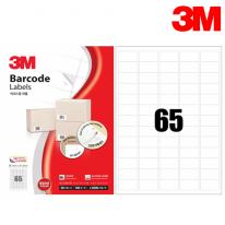 3M 21365-100 일반형 바코드 라벨(65칸,100매)