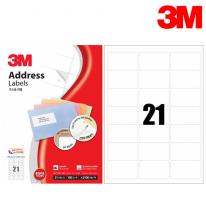 3M 21321-100 일반형 주소용 라벨(21칸,100매)