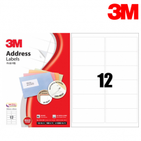 3M 21312-100 일반형 주소용 라벨(12칸,100매)