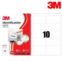 3M 21310-100 일반형 분류표기용 라벨(10칸,100매)
