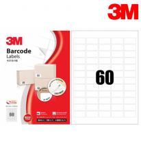 3M 21360-100 일반형 바코드 라벨(60칸,100매)