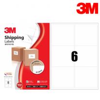 3M 21306-100 일반형 물류관리용 라벨(6칸,100매)