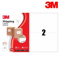 3M 21302-100 일반형 물류관리용 라벨(2칸,100매)