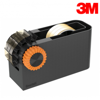 3M 스카치 테이프 디스펜서(블랙&오렌지)