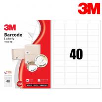 3M 21340-100 일반형 바코드 라벨(40칸,100매)