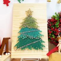 크리스마스 트리 스트링아트(우드)