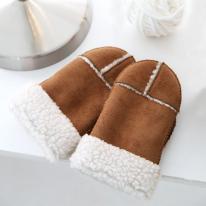 따뜻한 겨울 모카 장갑