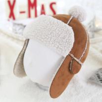 따뜻한 겨울 군밤 모자