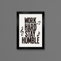 무쉬 Work Hard Stay Humble
