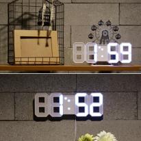 미니 3D LED 탁상시계