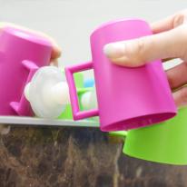 [일본완제품]마나 흡착건조 양치컵