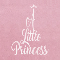 스텐실 도안_A LITTLE PRINCESS