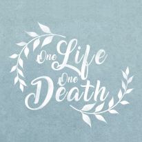 스텐실 도안_One Life One Death