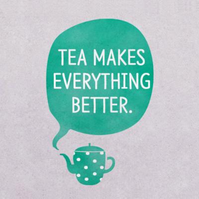 스텐실 도안_Tea makes...