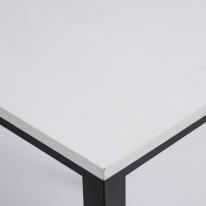 스프러스 6인 테이블상판 - 화이트(사이즈선택)