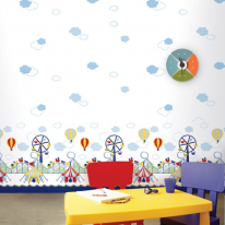 A1015-1 놀이동산 (만능풀바른벽지 옵션 선택)