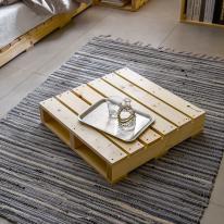 파렛트 600×600 침대 소파 테이블 협탁 다용도 원목 프레임