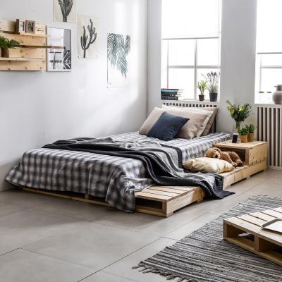 파렛트 1200×1000 침대 소파 테이블 침상 다용도 원목 프레임