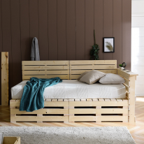 파렛트 800×800 침대 소파 테이블 다용도 원목 프레임