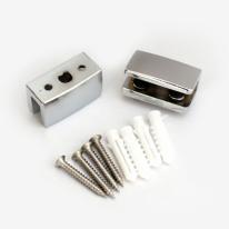강화유리 욕실선반 장석(선반부속품/2개1세트)