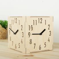 (ktk074)자작나무 삼면시계(숫자)