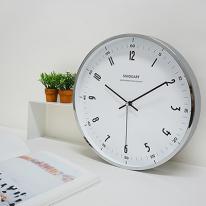 글로리무소음벽시계