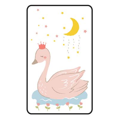 [쟈니] 동물친구들 대형 3d에어매쉬매트 백조 (95x145)