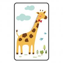 [쟈니] 동물친구들 대형 3d에어매쉬매트 기린 (95x145)