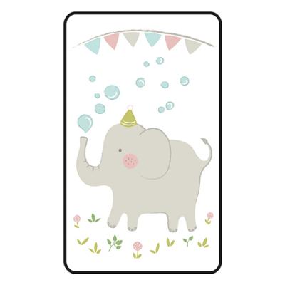 [쟈니] 동물친구들 대형 3d에어매쉬매트 코끼리 (95x145)